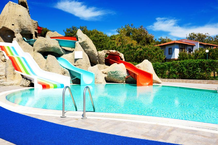 Fabricant toboggan piscine