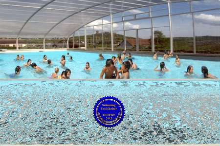 Abri piscine XXL